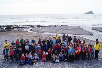 90 marine champions from across Devon at Wembury Beach Conference