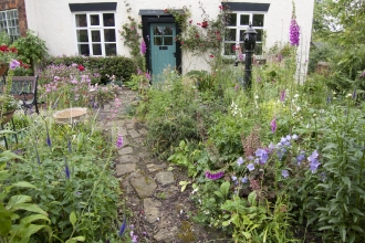 A wildlife friendly cottage garden