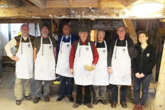 Meet the millers at Cricklepit Mill