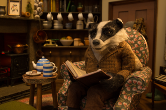 Wind in the Willows badger
