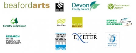 North Devon Nature Improvement Area logos