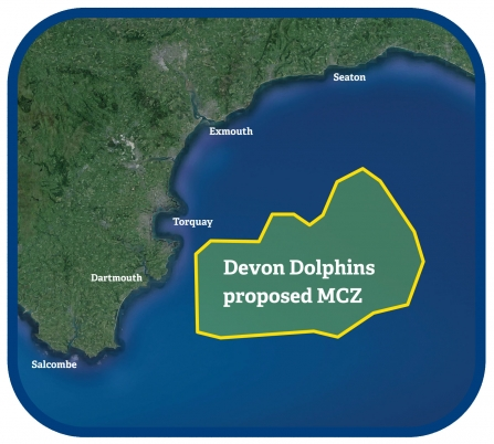 Devon Dolphins proposed MCZ map