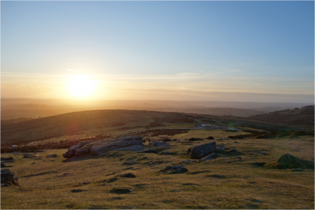 Sunrise over Haytor