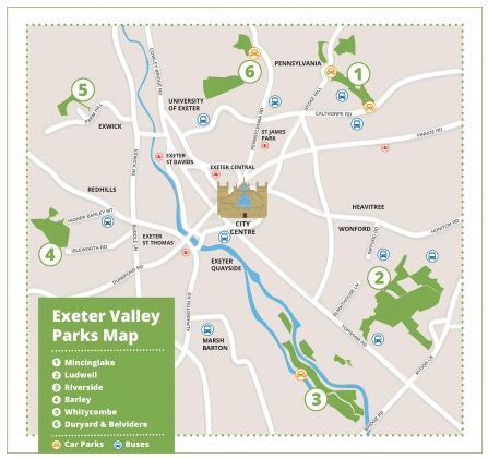 Exeter Valley Parks | Devon Wildlife Trust on