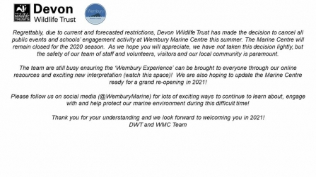 Wembury CV statement